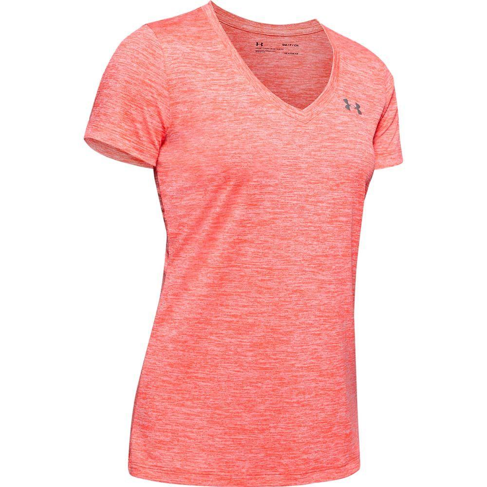 Under Armour Damen UA Tech Twist T-Shirt orange M