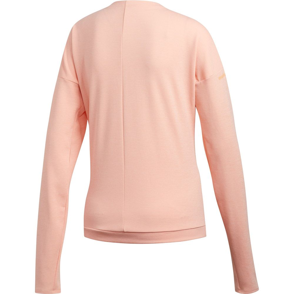 adidas Supernova Run Cru Sweatshirt Women glow pink heather