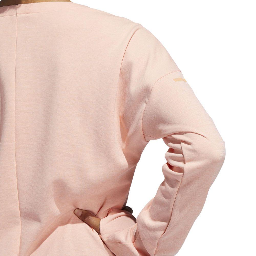 adidas Supernova Run Cru Sweatshirt Damen glow pink heather