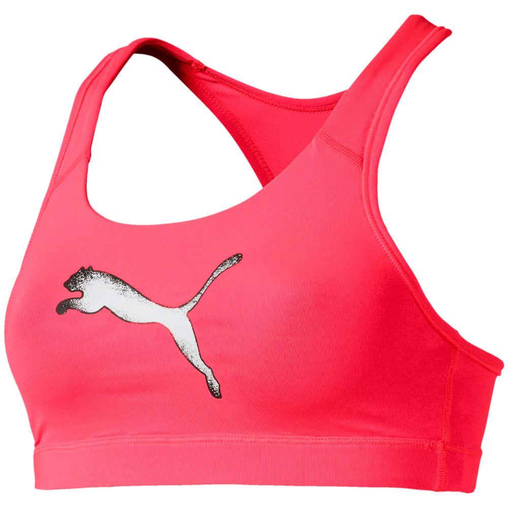 Puma - 4Keeps M Sports Bra Woman pink alert at Sport Bittl Shop