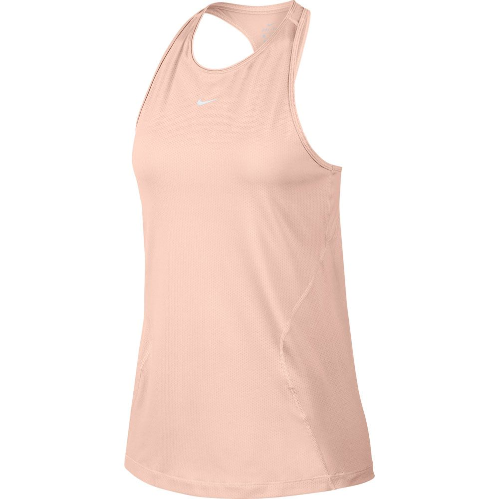 Nike Pro All Over Mesh Tank Top Women echo pink white