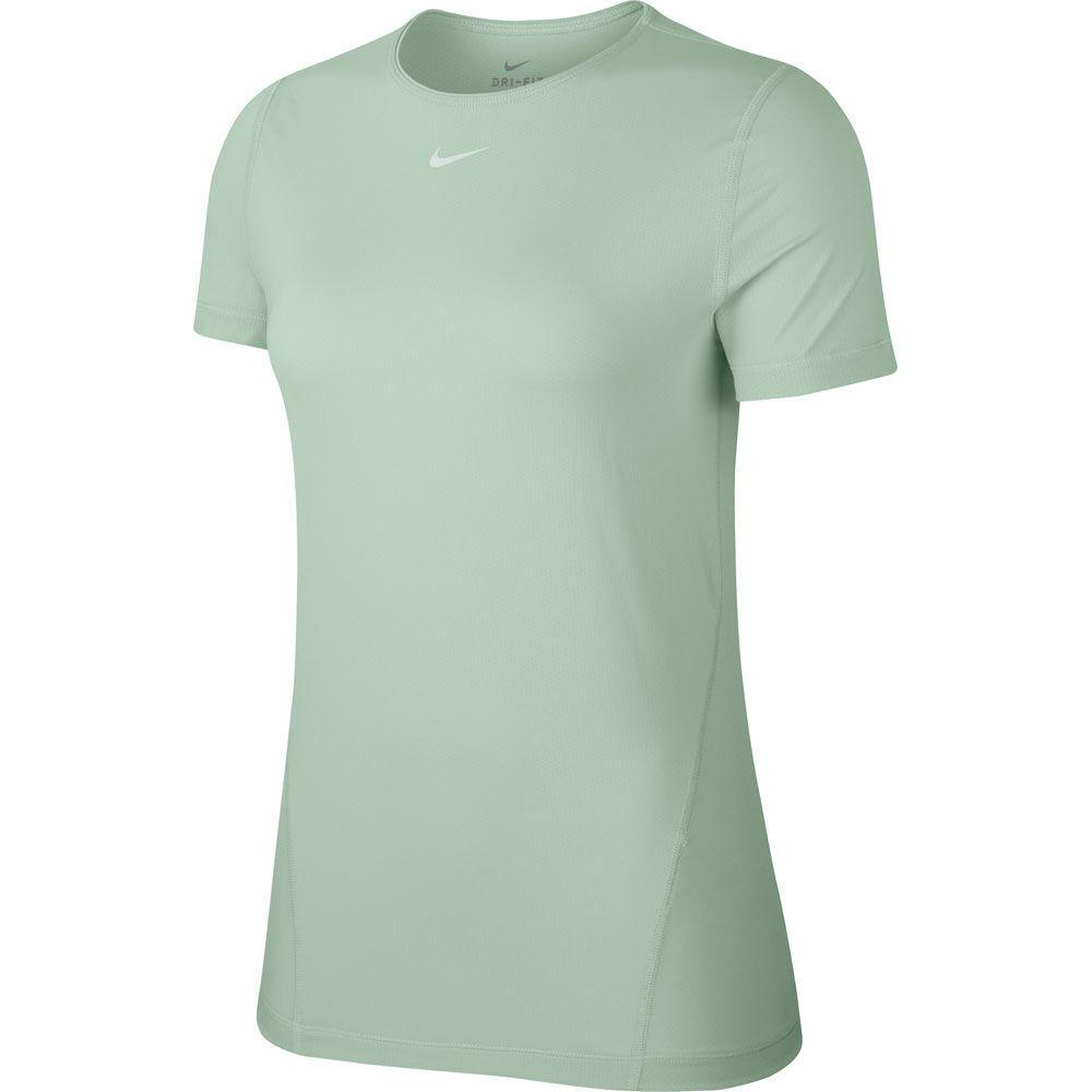 Nike Pro Mesh Tanktop für Damen pistachio frostwhite AO9966 321