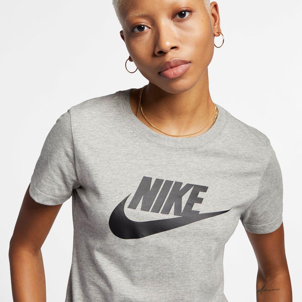 Nike Sportswear Essential Icon Futura T Shirt Women dark