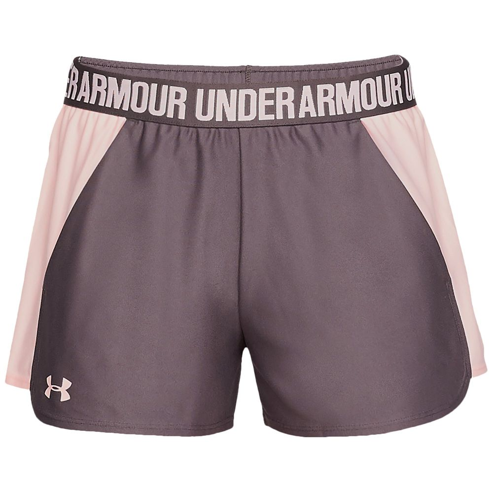Play Up 2.0 Shorts Women ash taupe orange dream