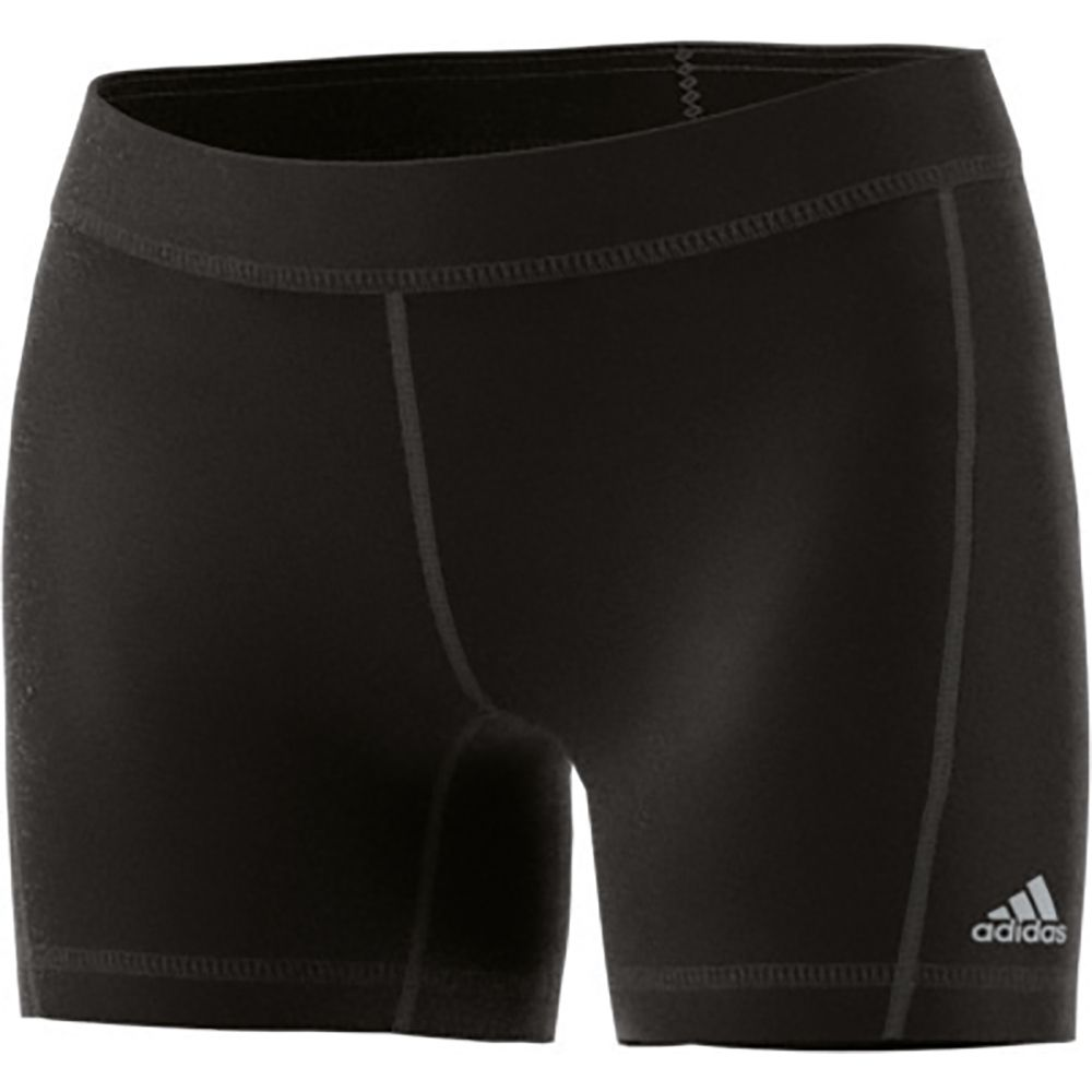 detailed look 1fda0 cd54d adidas Techfit Shorts Women black matte silver