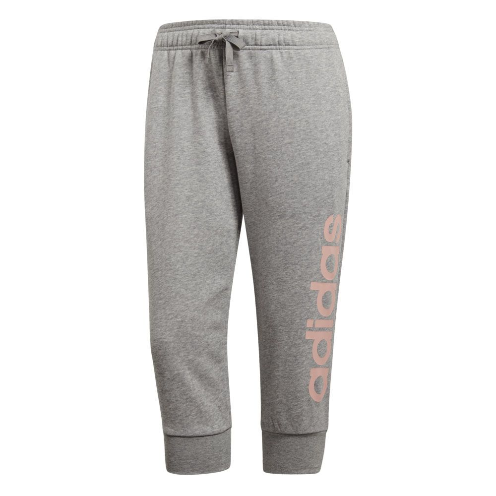 88bb6b531 adidas - Essentials Linear 3 4-Pants Women medium grey heather haze ...
