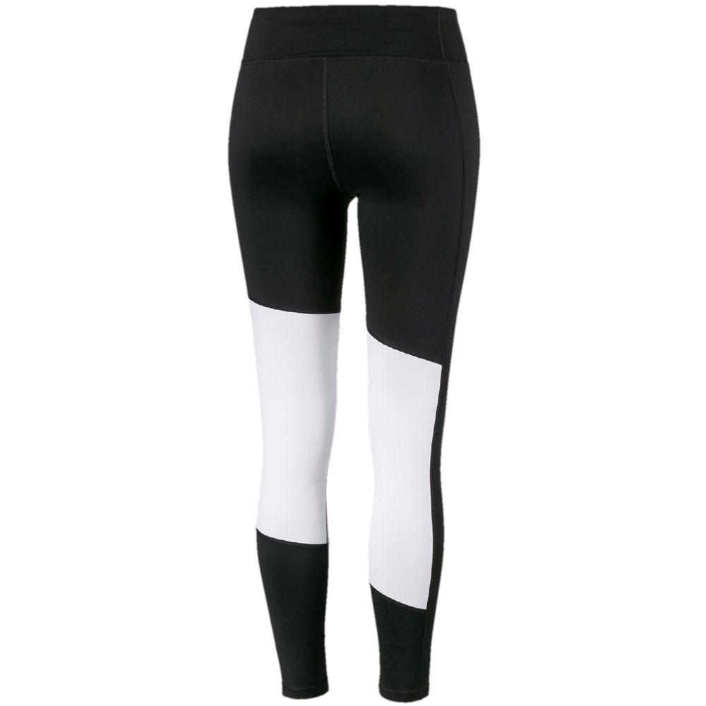 puma tights damen schwarz weiß