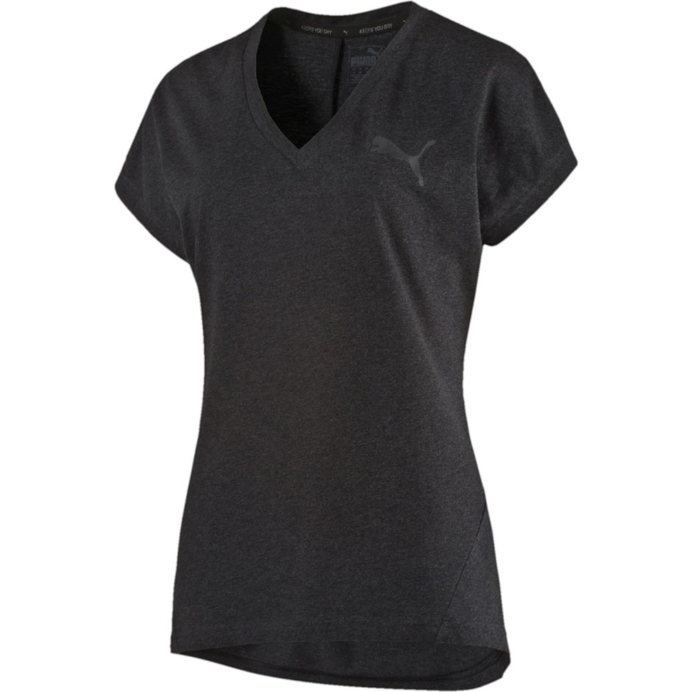 3cff06f0a7a Puma - Elevated Tee Women dark grey heather at Sport Bittl Shop