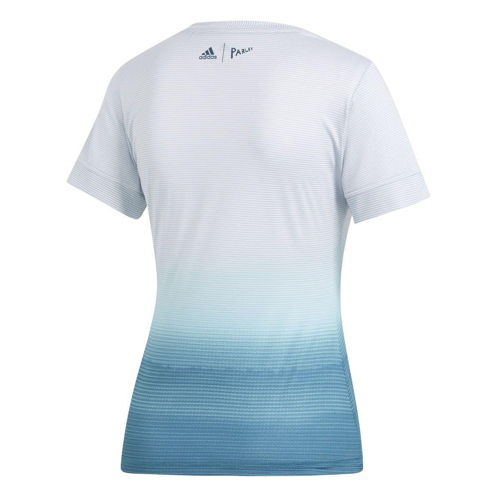 adidas Parley T Shirt Damen white blue spirit kaufen im