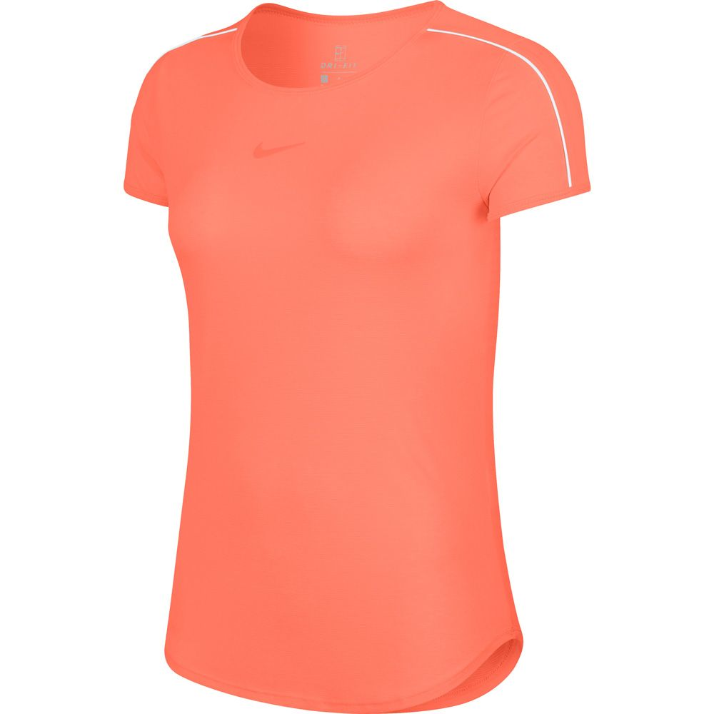 pulse Court Damen orange T Dry Shirt white Nike xBtoQrCshd