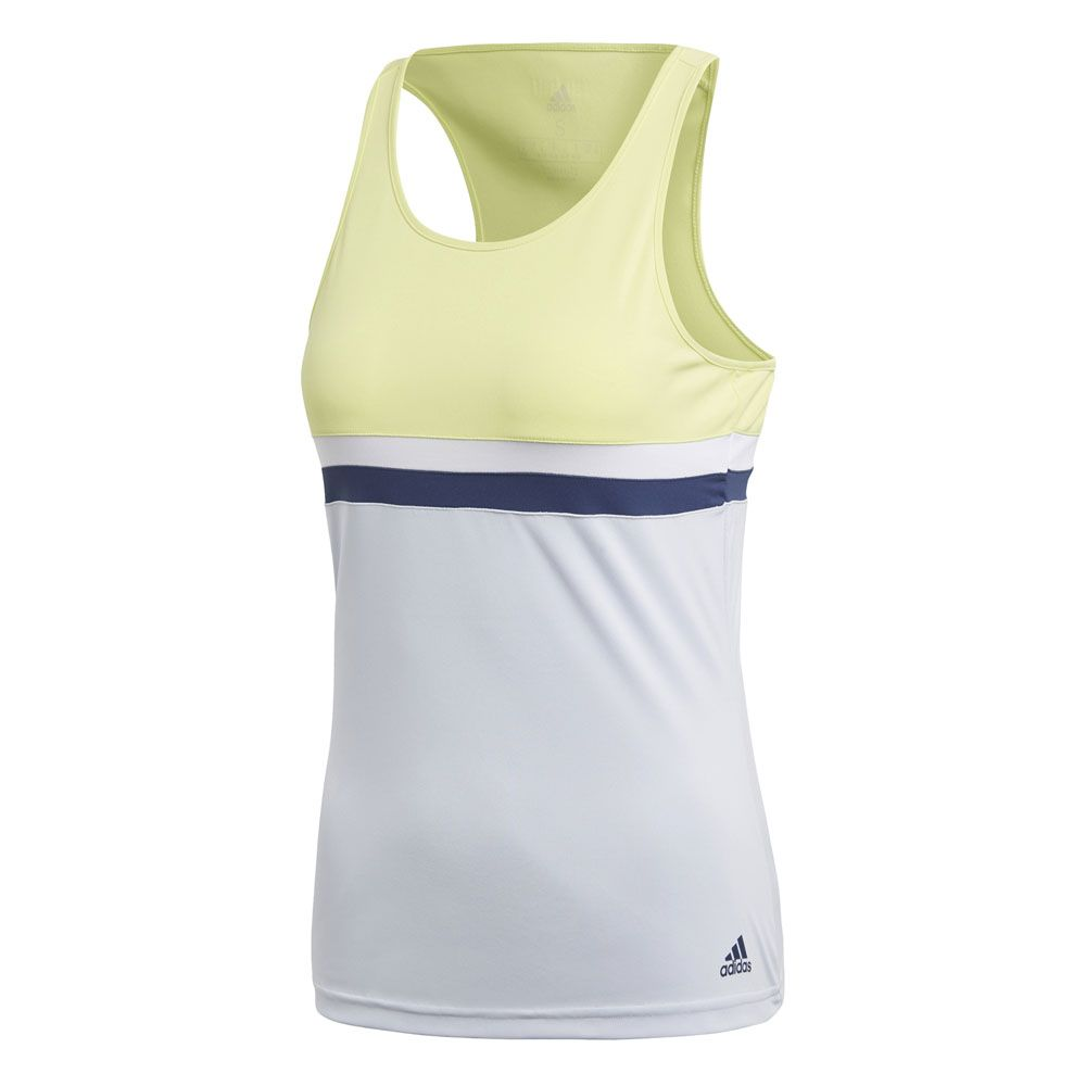 a595fd2c66bec adidas - Club Tennis Tank Top Women semi frozen yellow at Sport ...