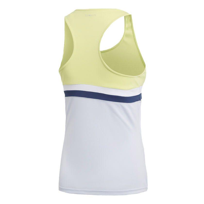 adidas Club Tennis Tank Top Women semi frozen yellow