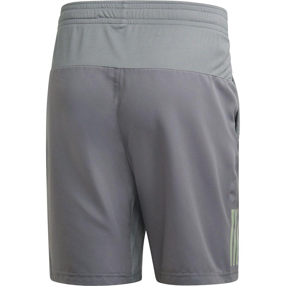 Black Adidas Club 3-Stripes 9-Inch Shorts White