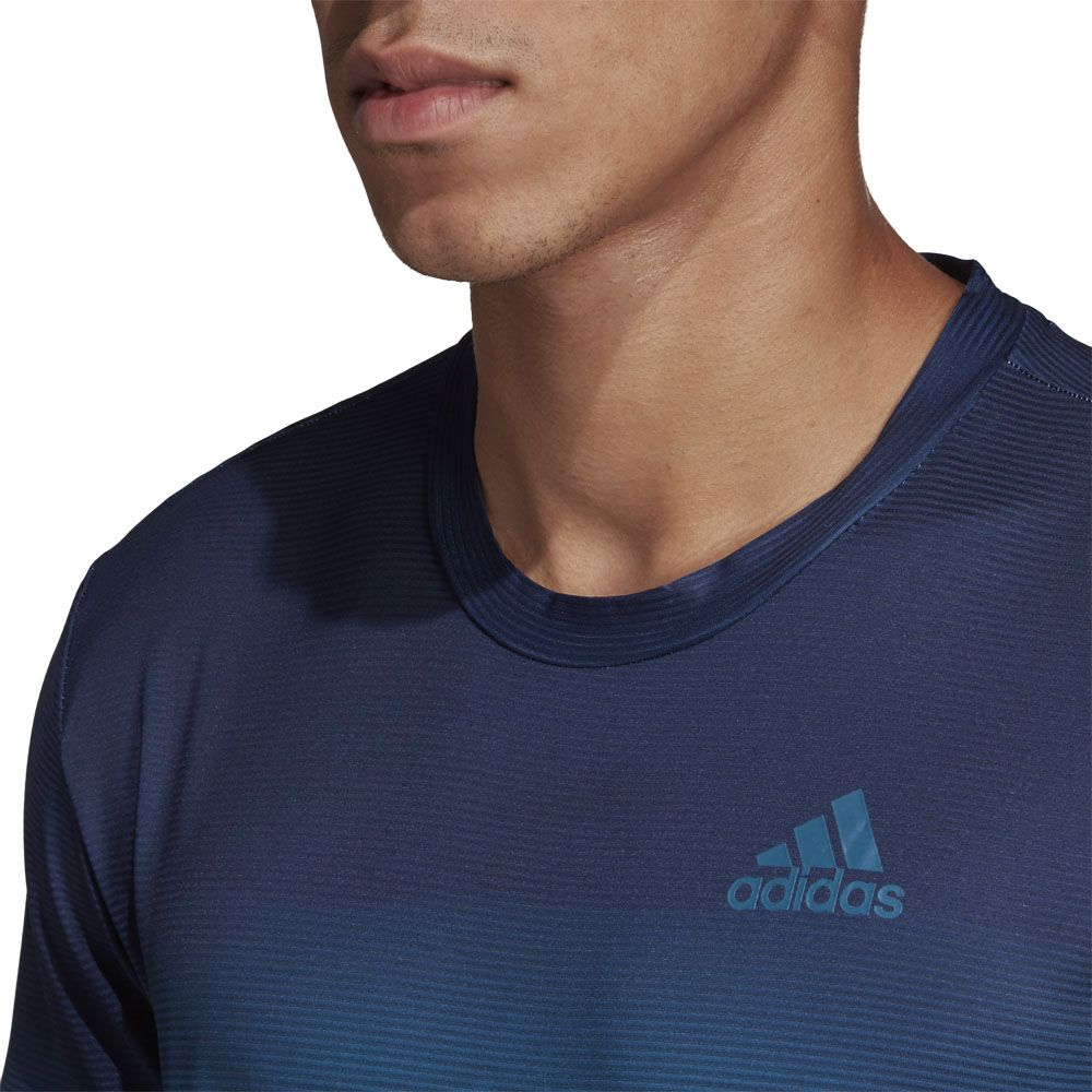 adidas Parley Printed T shirt Men white easy blue at Sport