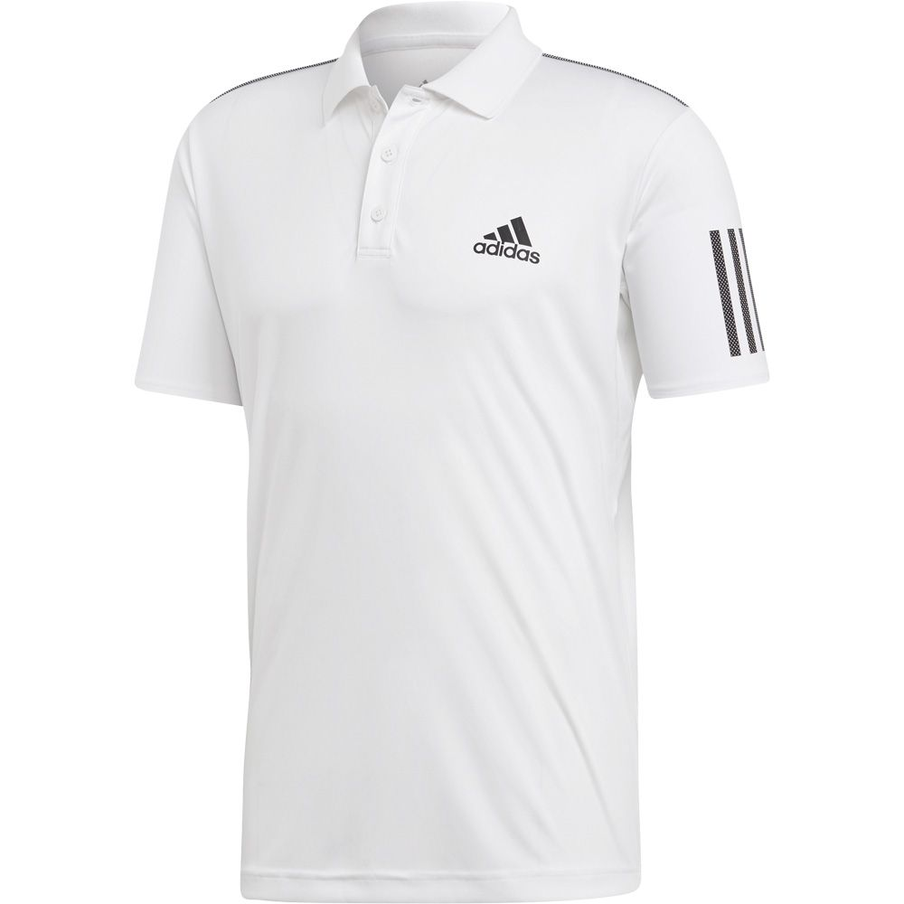 a8f97488 adidas - 3-Stripes Club Polo Shirt Men white black at Sport Bittl Shop