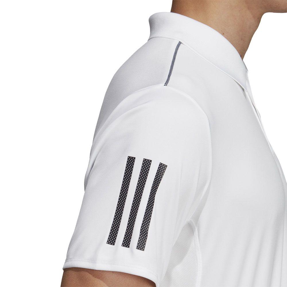 e8ac2c118 adidas - 3-Stripes Club Polo Shirt Men white black at Sport Bittl Shop