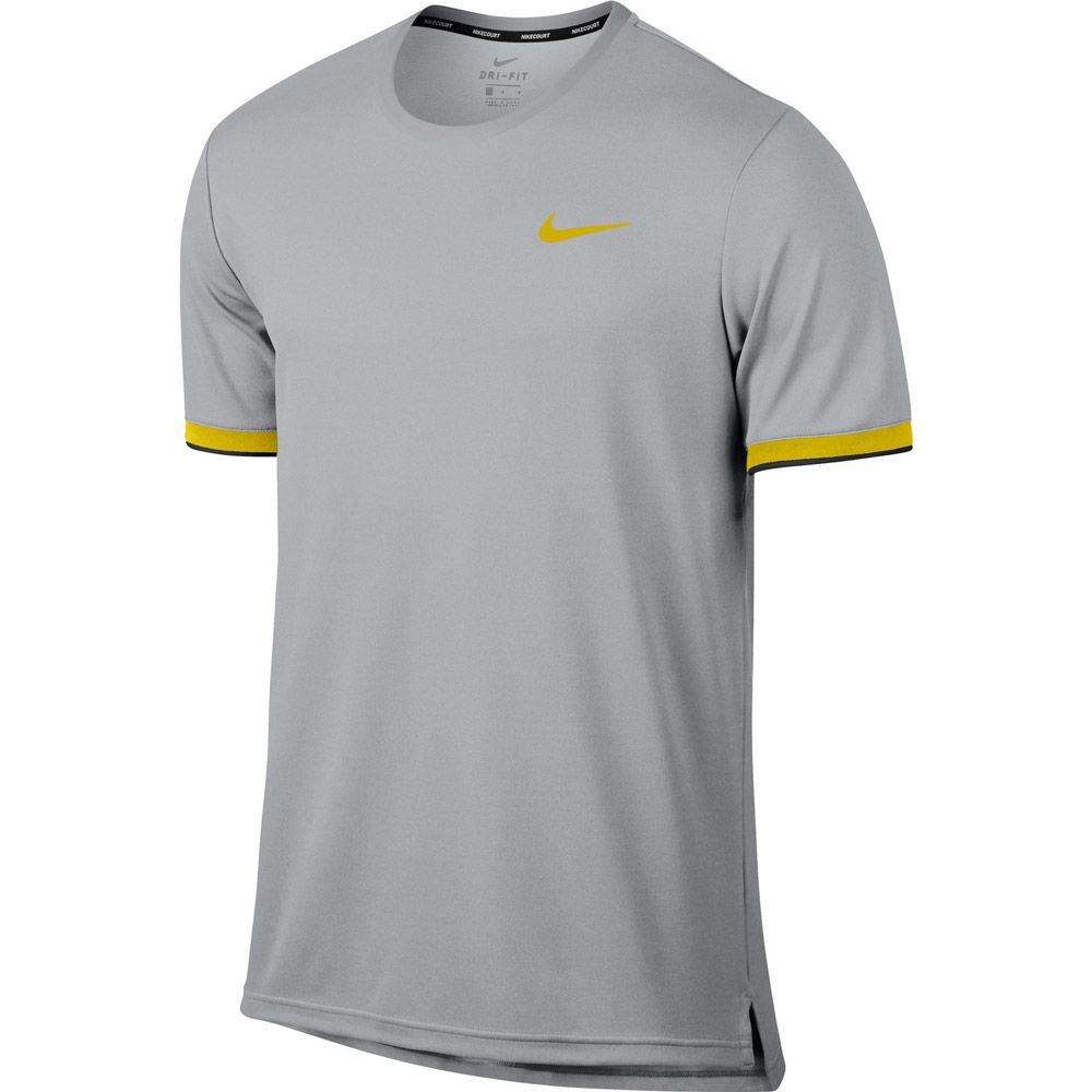 reputable site 96d7b 008a4 Nike - NikeCourt Dry Tennis T-shirt Men grey