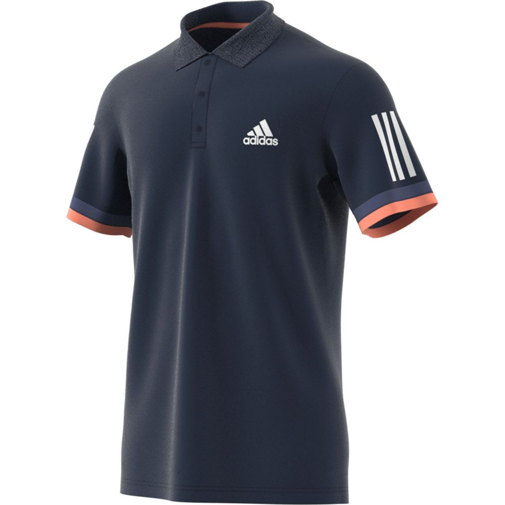 adidas 3 Stripes Club Polo Shirt Men collegiate navy at