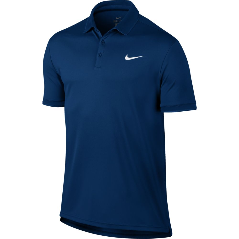 Nike Court Dry Team Tennis Poloshirt Men blue jay at Sport