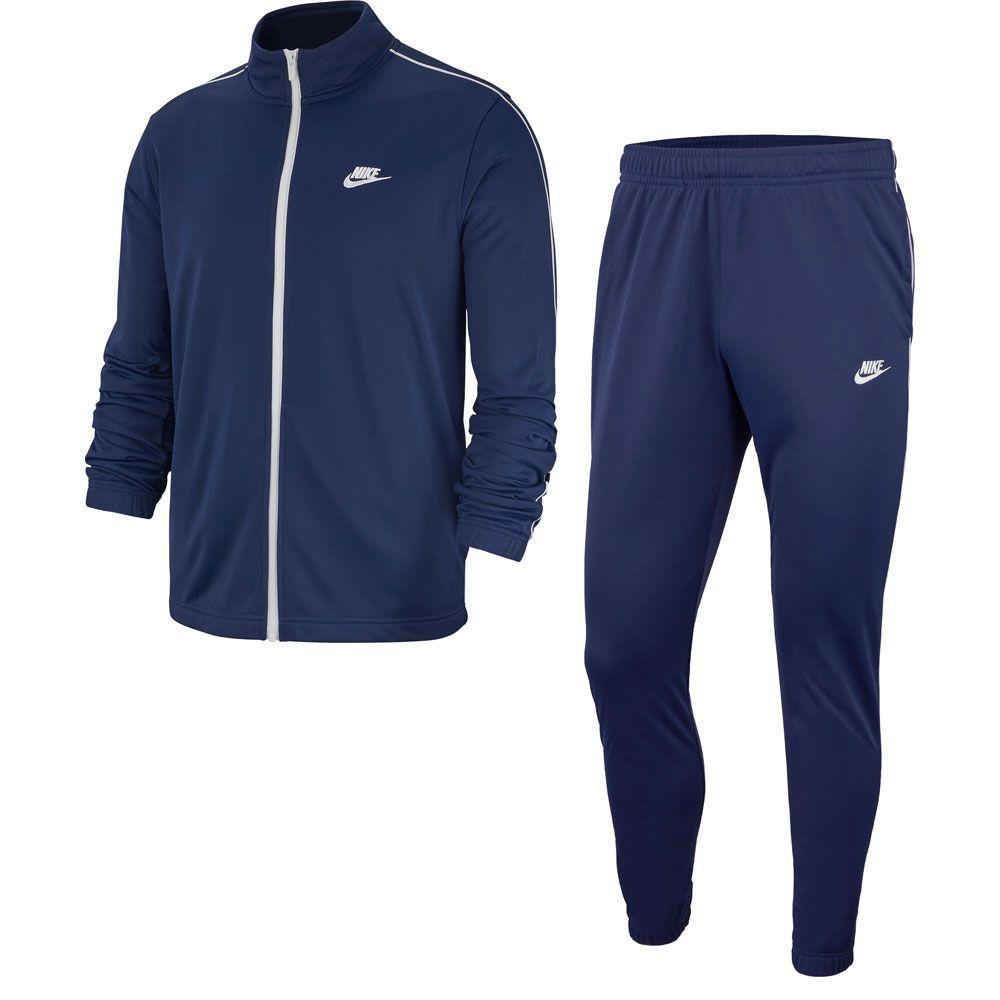 gymnastikskor bra passform rabatt butik Nike - Sportswear Tracksuit Men midnight navy white at Sport Bittl ...