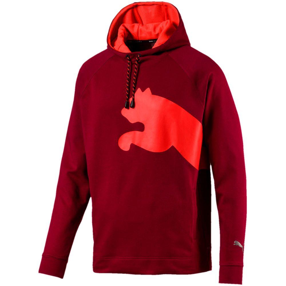 Puma Cat Sweat Hoodie Herren rhubarg nrgy red kaufen im