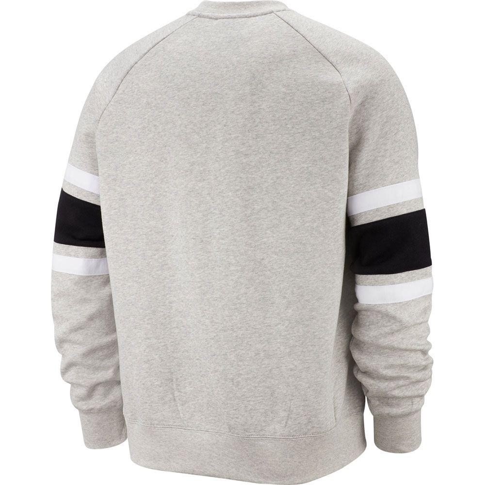 Nike Sportswear Air Fleece Crew Sweatshirt Herren Grey Heather