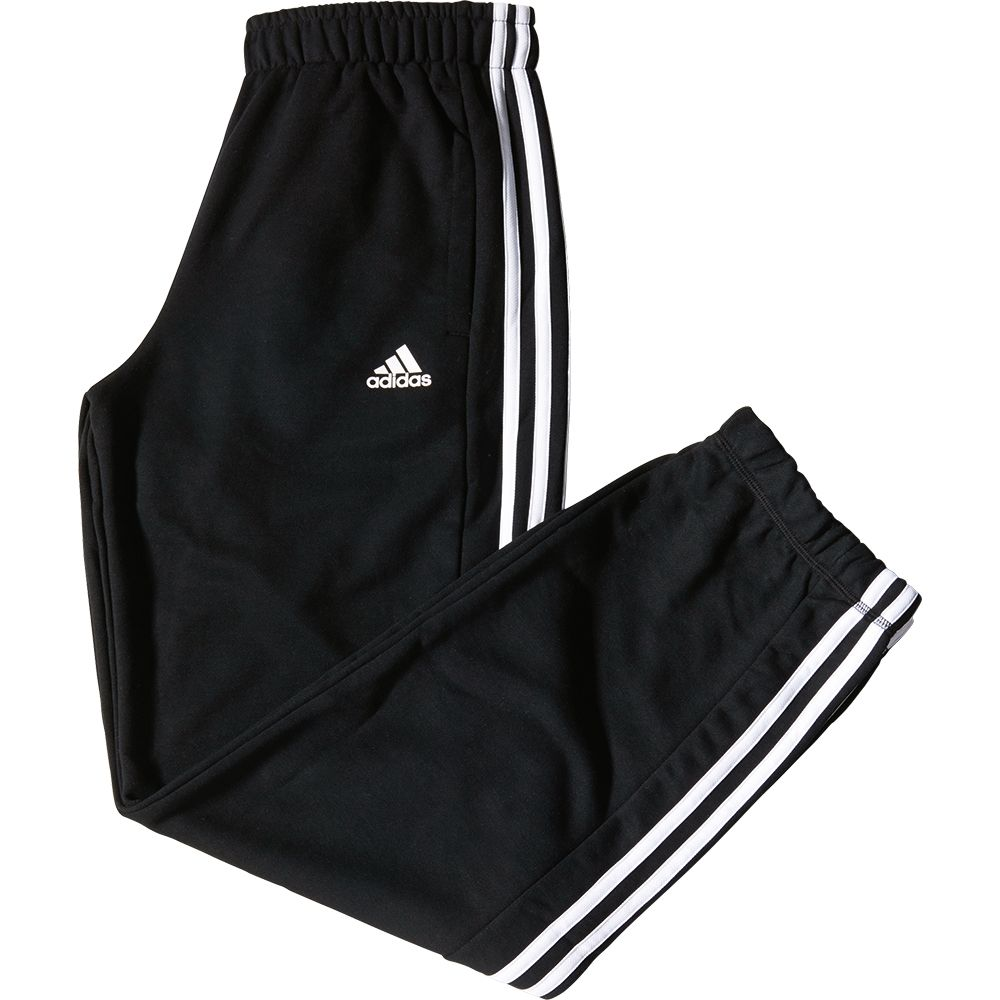 adidas Essentials 3S French Terry Pants Men black white at