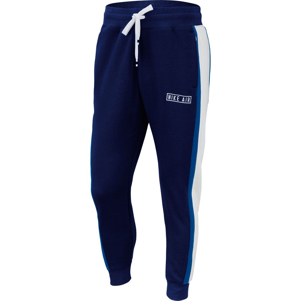 basura Cabaña mini  Nike - Sportswear Air Fleece Joggers Men blue void white game royal white  at Sport Bittl Shop