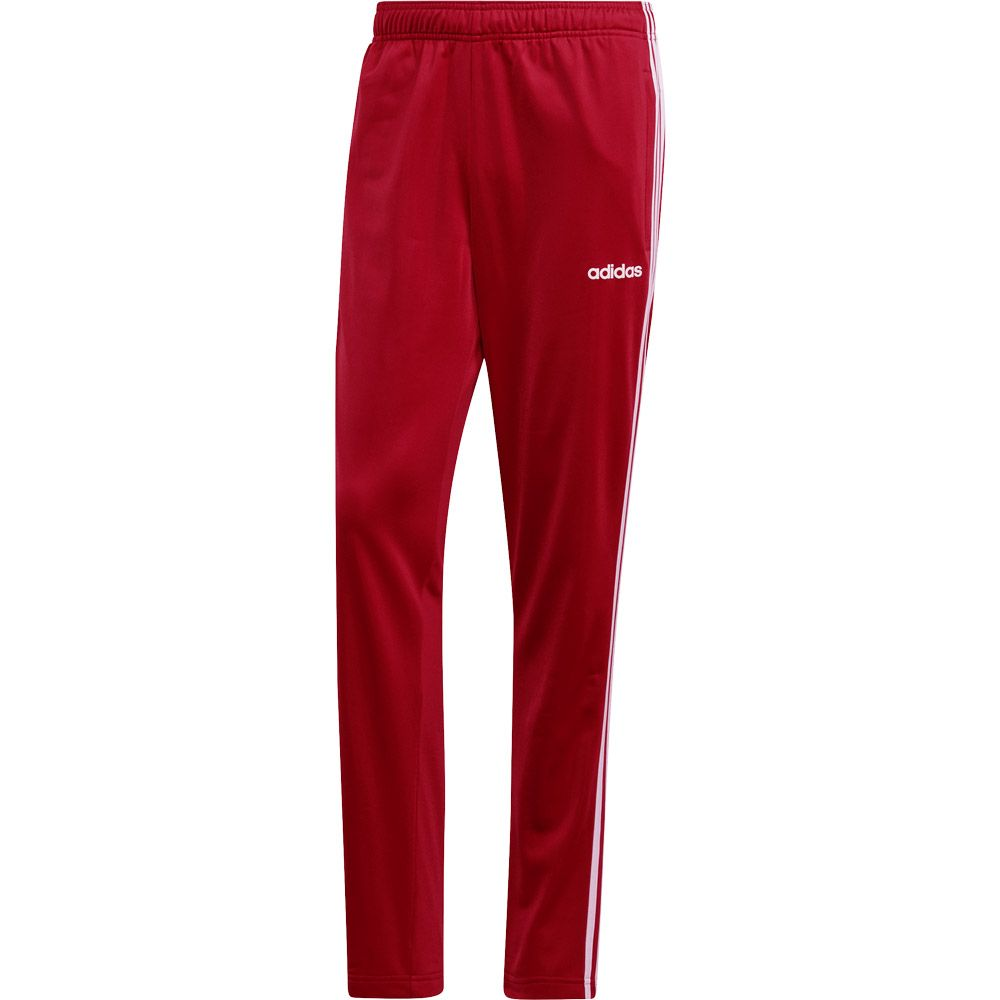 f6bb771fc2884 adidas - Essentials 3-Stripes Tapered Pants Men active maroon white ...