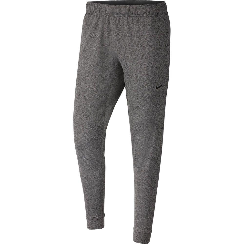 Nike Dri Fit Yoga Fitness Pants Men Iron Grey Heather Black At Sport Bittl Shop