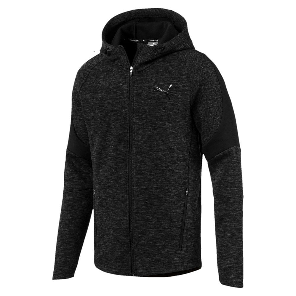 Puma Evostripe Full Zip Hoodie Men cotton black