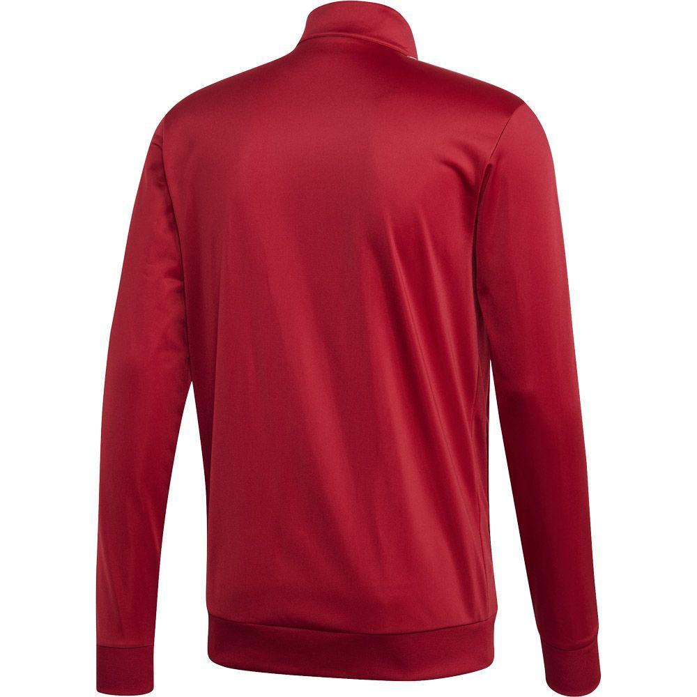 adidas Essentials 3 Stripes Tricot Track Jacket Men active maroon