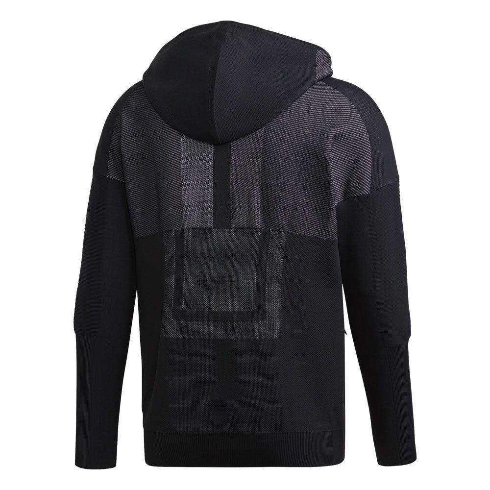 best deals on get new huge selection of adidas - Z.N.E. Primeknit Hoodie Men black white at Sport ...