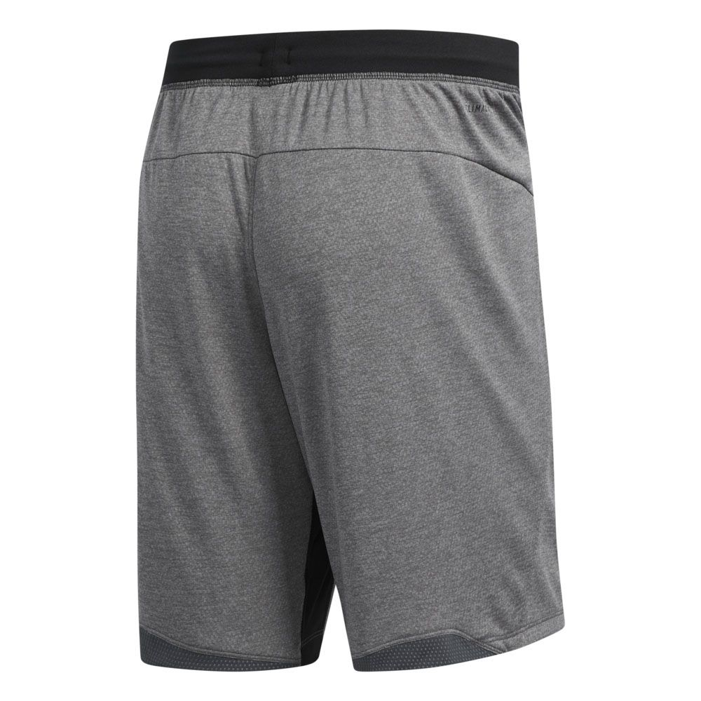 adidas 4KRFT 9 Inch Tech Heather Knit Shorts Men grey six