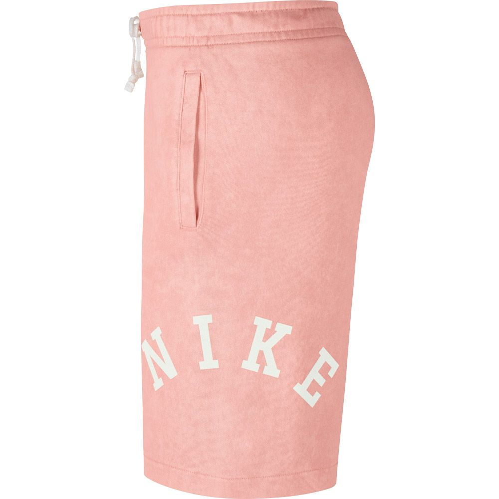 8e50440fcc78 Nike Sportswear French-Terry-Shorts Women bleached coral summit white