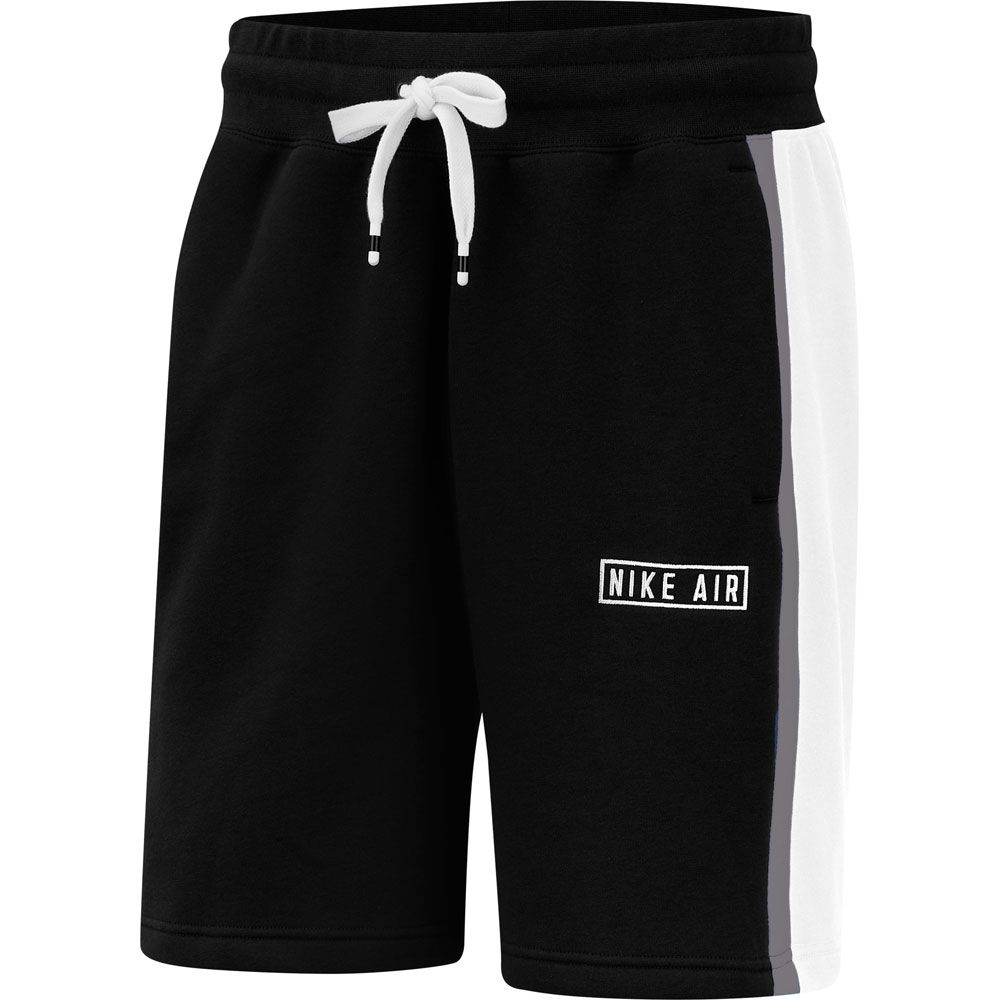 Nike Air Shorts Herren schwarz weiß grau meliert