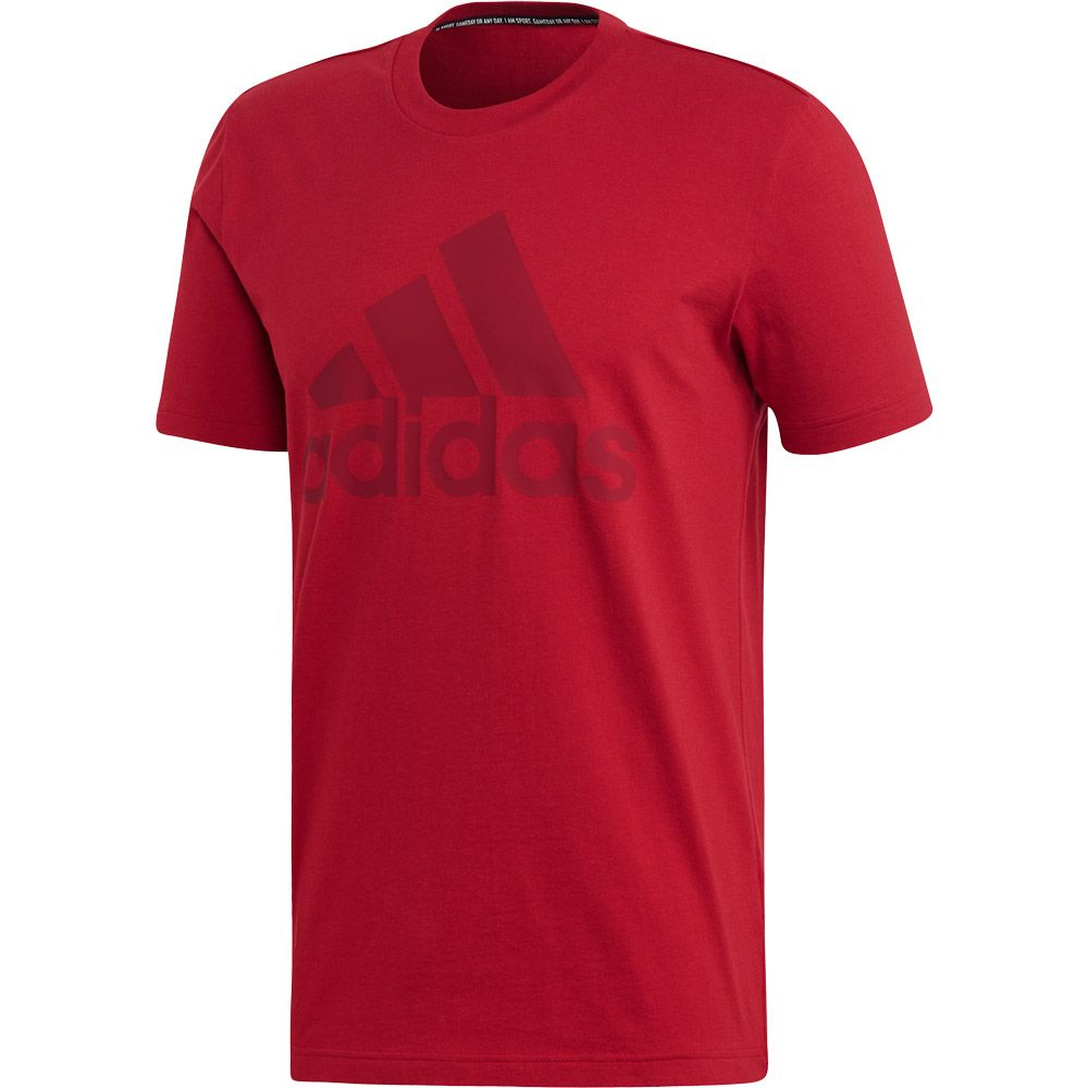 2d5911ce adidas Must Haves Badge of Sport T-shirt Men active maroon collegiate  burgundy