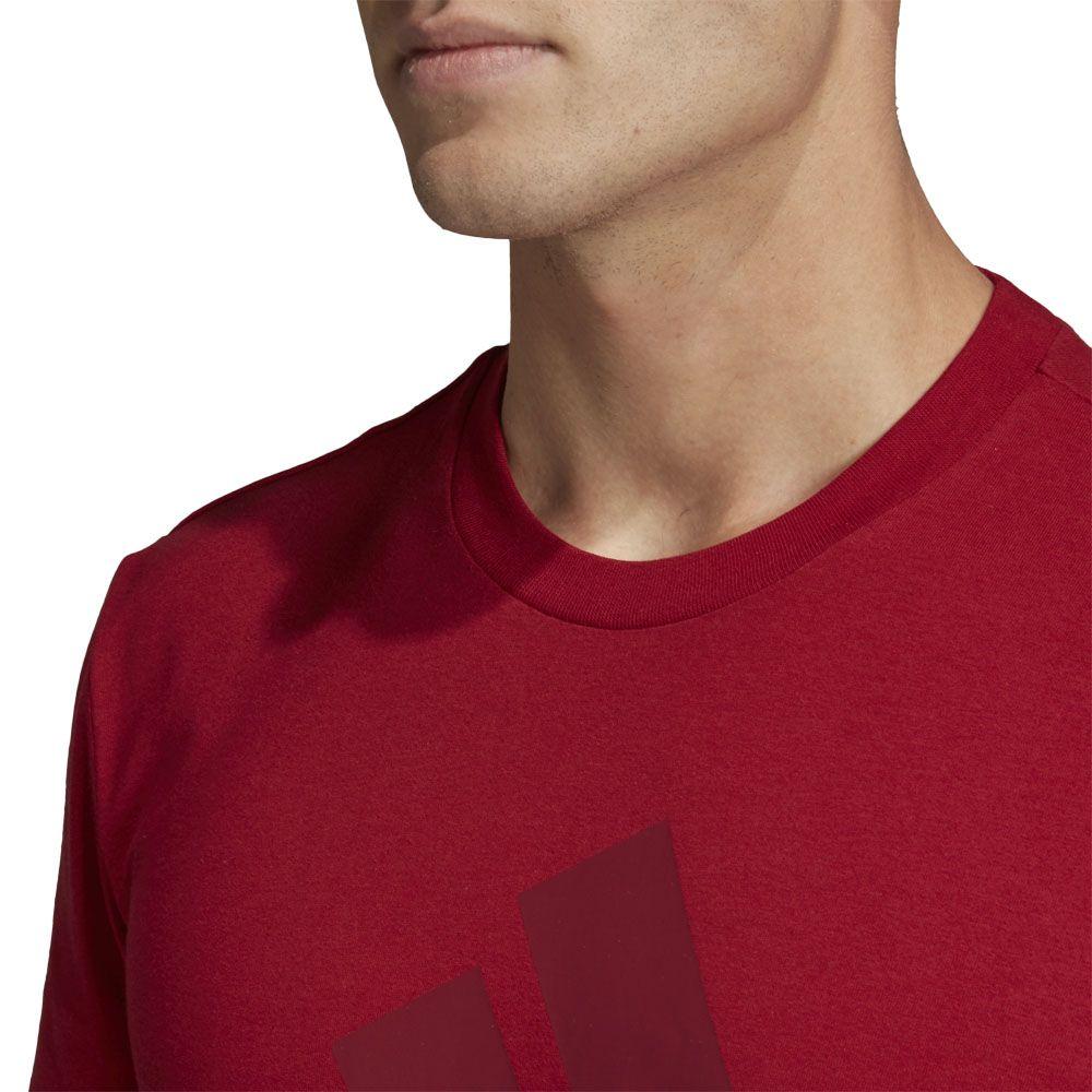 901b5c86 Must Haves Badge of Sport T-shirt Men active maroon collegiate burgundy