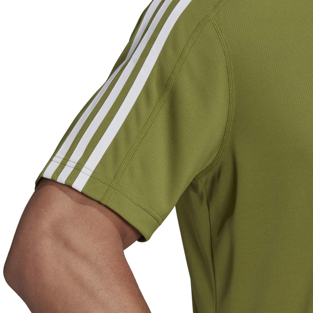 adidas Design 2 Move 3 Streifen T Shirt Herren tech olive