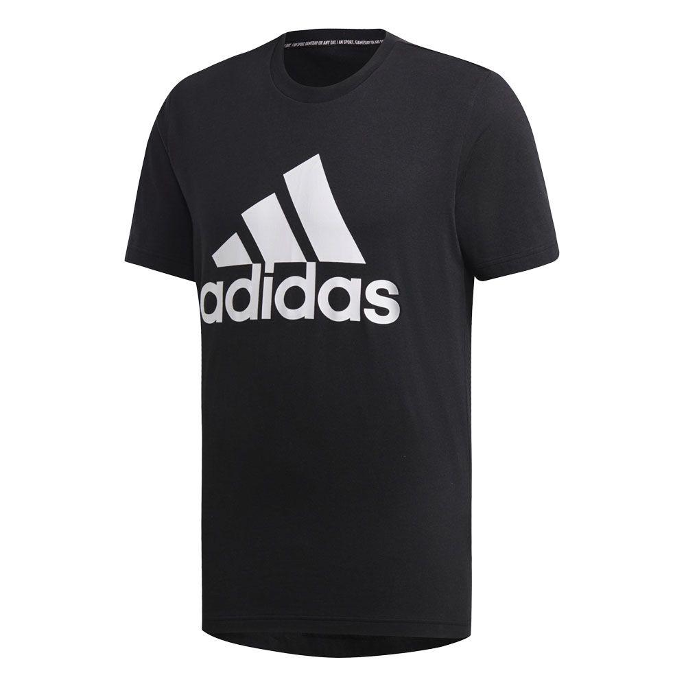 adidas Must Haves Badge of Sport T Shirt Men medium grey heather white