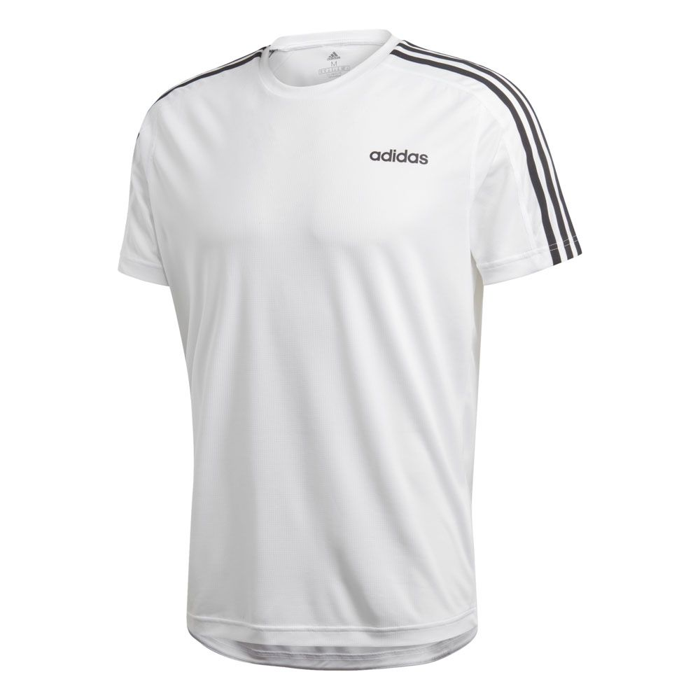 e3685fae43220d adidas - Design 2 Move 3-Stripes T-shirt Men white at Sport Bittl Shop