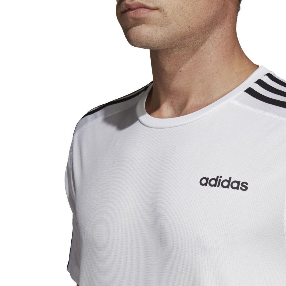 adidas Herren T-Shirt Design 2 Move 3-Streifen