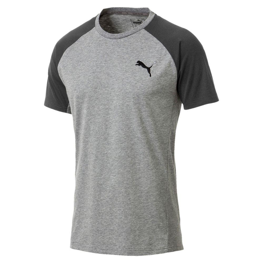 Puma Active Evostrip T shirt Men medium gray heather