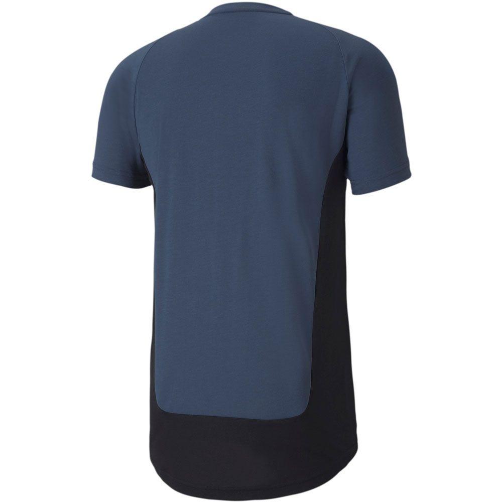 Evostripe T-Shirt Herren dark denim