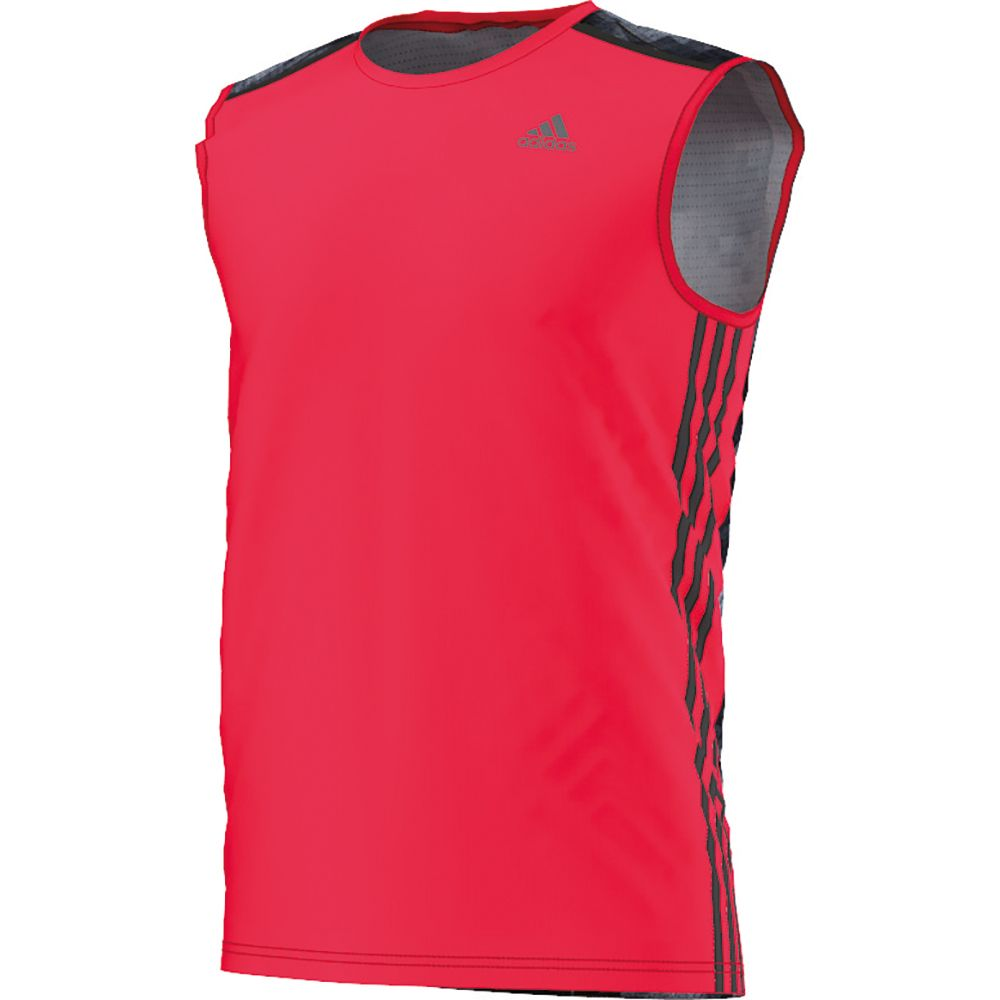 skate shoes online for sale shop adidas - Cool365 Sleeveless Tee Men ray red at Sport Bittl Shop