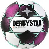 DERBYSTAR - Bundesliga Football Brillant Replica white magenta mint