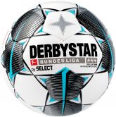 DERBYSTAR - Official Bundesliga Football Brillant APS white black petrol