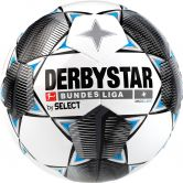 DERBYSTAR - Bundesliga Football Magic Light white black grey blue