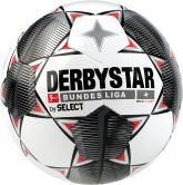 DERBYSTAR - Bundesliga Football Magic S-Light white black grey red
