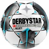 DERBYSTAR - Bundesliga Football Brillant Replica white black petrol